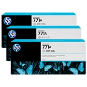 HP #771A 3-pack 775-ml LG (B6Y46A) OEM Ink Cartridge