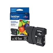 Brother LC61 BK (LC-61 BK) OEM Ink Cartridge