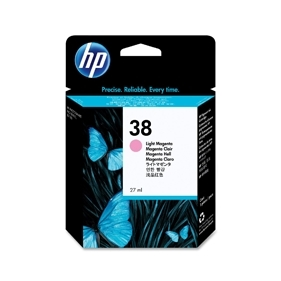 HP #38 PM (C9419A) OEM Ink Cartridge