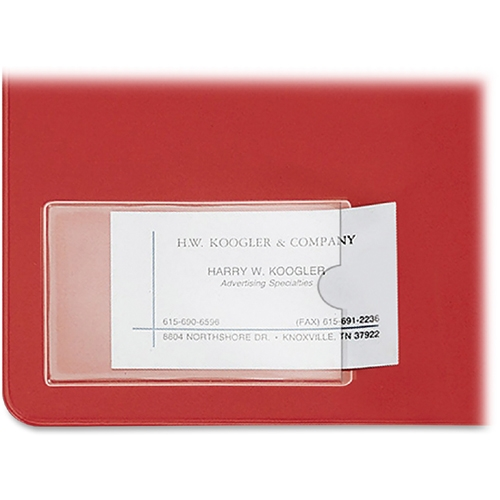TOPS Products Cardinal HOLDit! Business Card Pocket