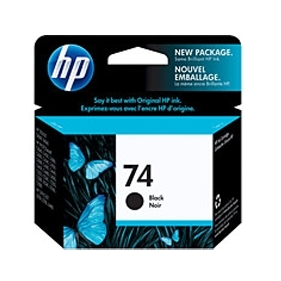 HP #74 (CB335W) OEM Ink Cartridge