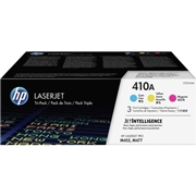 HP OEM 410A 3-Pack (CF251AM) Toner Cartridge