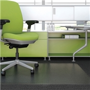 Deflecto Corporation Deflect-o EnvironMat Low Pile Rectangular Chair Mat
