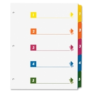 Sparco Products Sparco Table of Contents Index Dividers