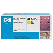 HP OEM 502A YW (Q6472A) Toner Cartridge