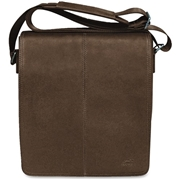 MANCINI Leather Goods MANCINI COLOMBIAN Carrying Case (Messenger) Tablet - Brown