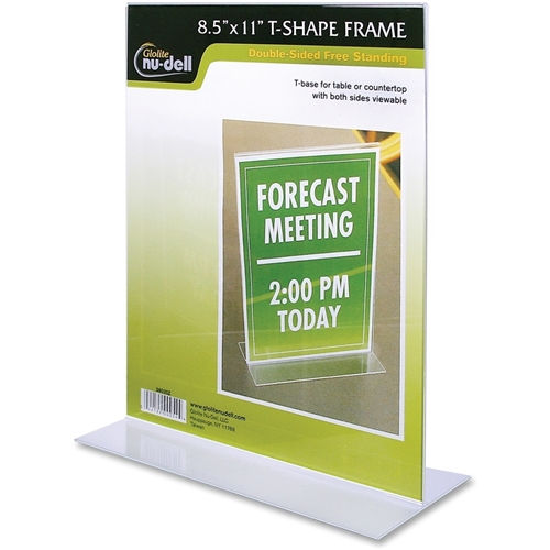 Nu-Dell Manufacturing Company, Inc Nu-Dell Acrylic Standing Sign Holder