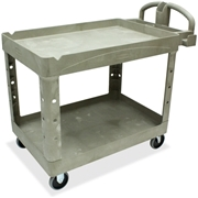 Rubbermaid Two Shelf Service Cart