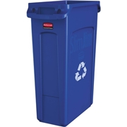 Newell Brands Rubbermaid Commercial Slim Jim Venting Recycling Container