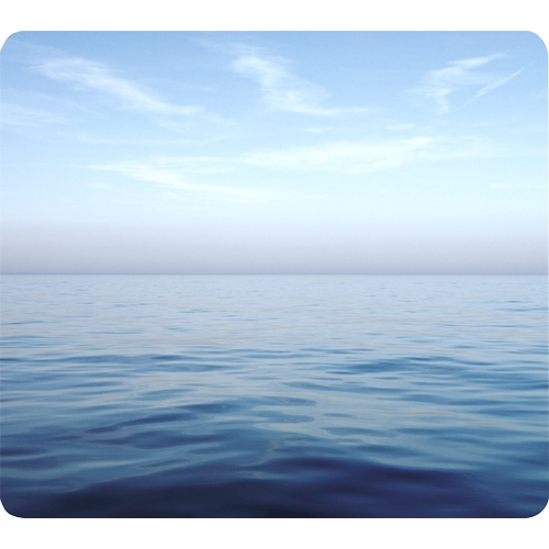 Fellowes, Inc Fellowes Recycled Mouse Pad - Blue Ocean