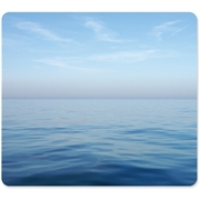 Fellowes Recycled Mouse Pad - Blue Ocean