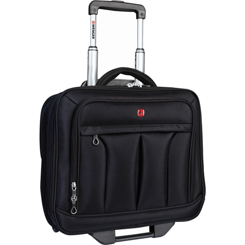 "Holiday Group, Inc Holiday SWA0565 Carrying Case (Roller) for 15.4"" Notebook, File Folder - Black"