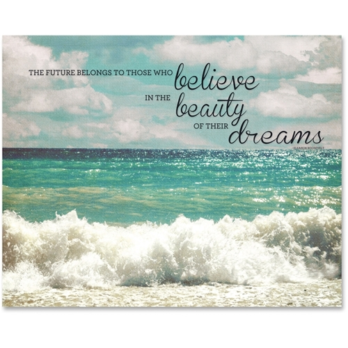 Advantus Corp Advantus Believe Motivational Canvas Print