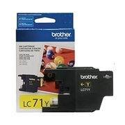 Brother LC71 YW (LC-71 YW) OEM Ink Cartridge
