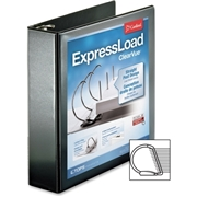 Cardinal ExpresLoad ClearVue Lockg D-ring Binders