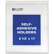 C-Line Products, Inc C-Line Vinyl Seal Shop Ticket Holder