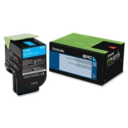 Lexmark OEM 80C10C0 Toner Cartridge