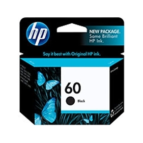 HP #60 B (CC640WC#140) OEM Ink Cartridge
