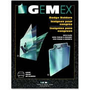 Gemex Name Badge Holders