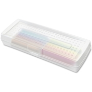 Sparco Clear Mini Pencil Box