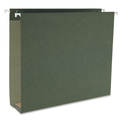 Smead Manufacturing Company Smead 64259 Standard Green Hanging Box Bottom Folders