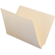 Smead 27110 Manila End Tab File Folders with Reinforced Tab