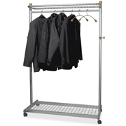 Alba Practical Chrome Coat Rack