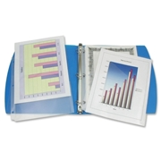 Winnable Enterprise Co. Ltd. Winnable Clear Slant Binder Pockets