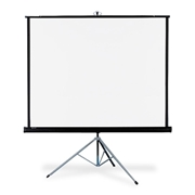 "Quartet Manual Projection Screen - 99"" - 1:1 - Floor Mount"