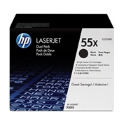 HP OEM 55X Dual Pack (CE255XD) Toner Cartridge