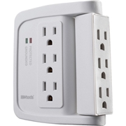 Wood Industries 6-Outlet Surge Suppressor/Protector