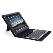 Compucessory Keyboard/Cover Case (Portfolio) for iPad - Black