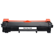 Brother Compatible TN-760 Toner Cartridge High Yield