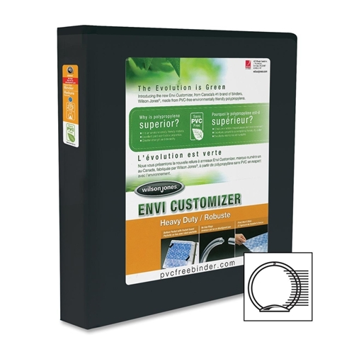 ACCO Brands Corporation Wilson Jones Heavy Duty Customizer Round Ring Binder