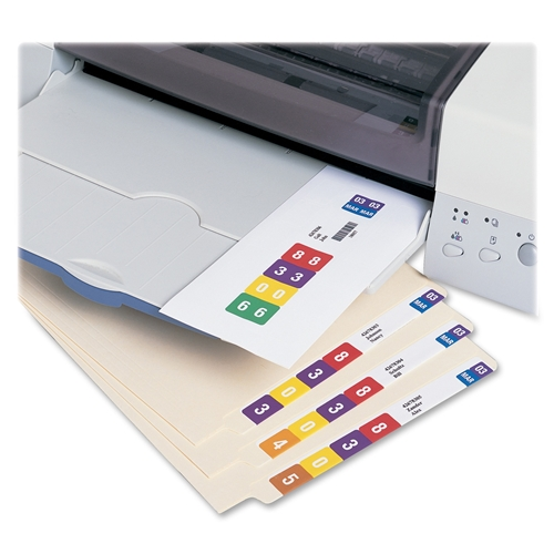 Smead Manufacturing Company Smead 66006 Smartstrip Labeling System (for ink-jet printers)