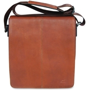 MANCINI Leather Goods MANCINI COLOMBIAN Carrying Case (Messenger) Tablet - Cognac