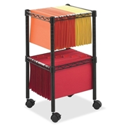 Safco Products Safco 2-Tier Compact File Cart