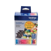Brother LC75 CMY 3PK (LC-75 CMY Multipack) OEM Ink Cartridge