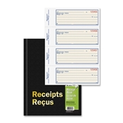 TOPS Products Adams Hardbound Receipt Book