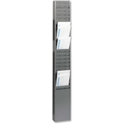 MMF 25-Pocket Steel Time Card Rack