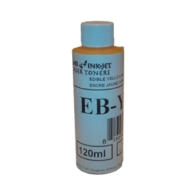 EB-Y50 Edible Ink 120ml Bulk Ink