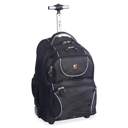 """Holiday Group, Inc Swissgear Carrying Case (Backpack) for 15.6"""" Notebook - Black"""