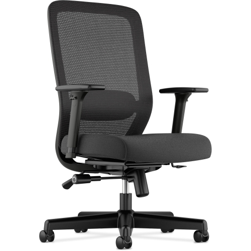 The HON Company Basyx by HON Fabric Seat Mesh High-Back Chair