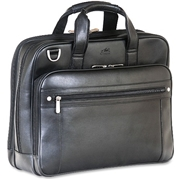"MANCINI 5th AVENUE Carrying Case (Briefcase) for 15.6"" Notebook - Black"