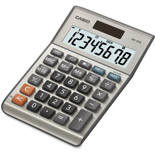 Casio Computer Co., Ltd Casio MS-80B Simple Calculator
