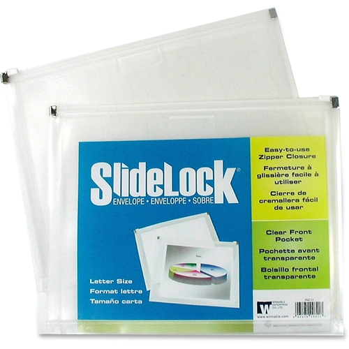 Winnable Enterprise Co. Ltd. Winnable Poly Side Lock Zip Envelopes