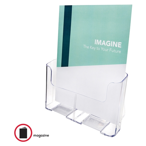 Deflecto Corporation Deflect-o Magazine Size Rigid Literature Rack