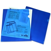 VLB Marketing Ltd Filemode Letter Size Poly View Binders