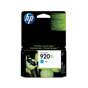 HP #920 XL C (CD972AC#140) OEM Ink Cartridge