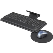 Safco Products Safco Adjustable Keyboard Platform with Swivel Mouse Tray
